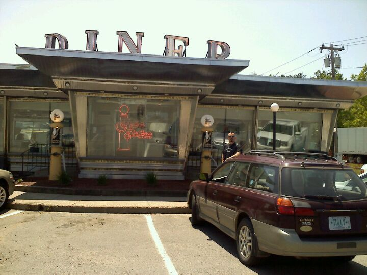 Whately Diner in South Deerfield, MA