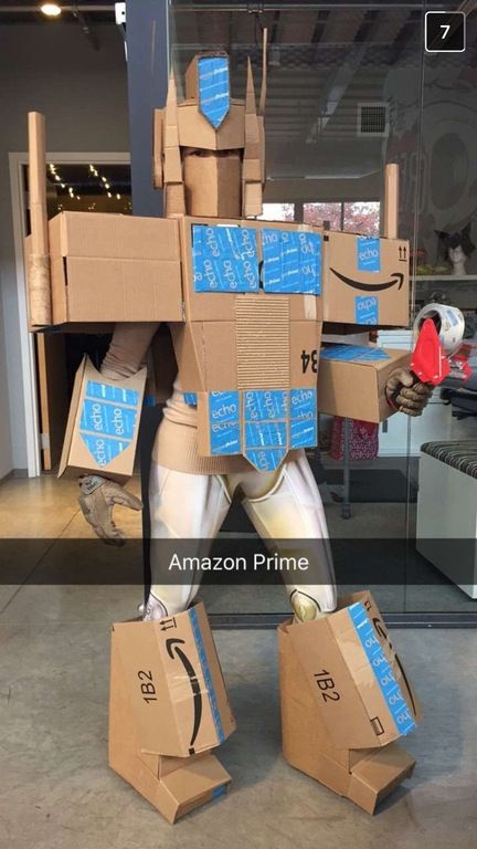 Amazon Prime Cosplay Rolls Out In Two Days Or Less Transformers