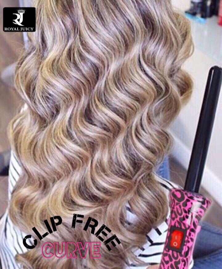 فير رويال جوسي بدون ملقط مقاس 25مم ستمنحك هذة المكواة شعرا جميلا وجذابا مع لفات كبيرة وخفيفة تناسب الاستخدا Hair Styler Before After Hair Beautiful Hair