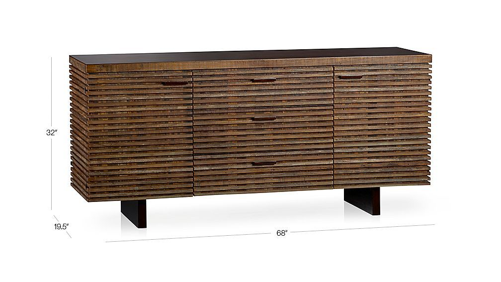 Paloma I Small Sideboard In Paloma I Dining Tables Crate And