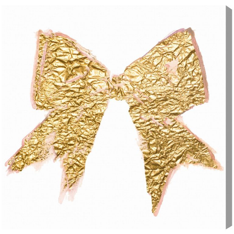 Lady\'s Bow - Oliver Gal Art | Gold | Pinterest | Oliver gal art and ...