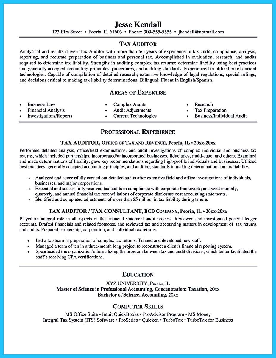 An Audit Resume Is Quite Important To Learn As You Are About To Apply For Job To Be An Auditor Here You Do Not Need To Be Worried Since You Can Just