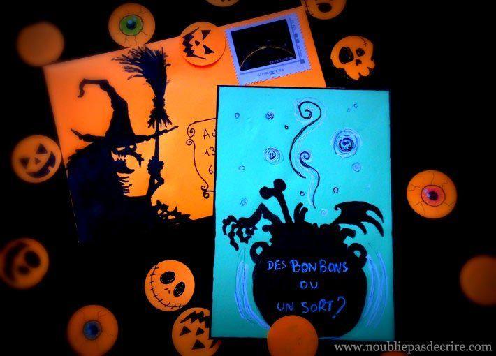 Idées Art Postal pour Halloween 2016