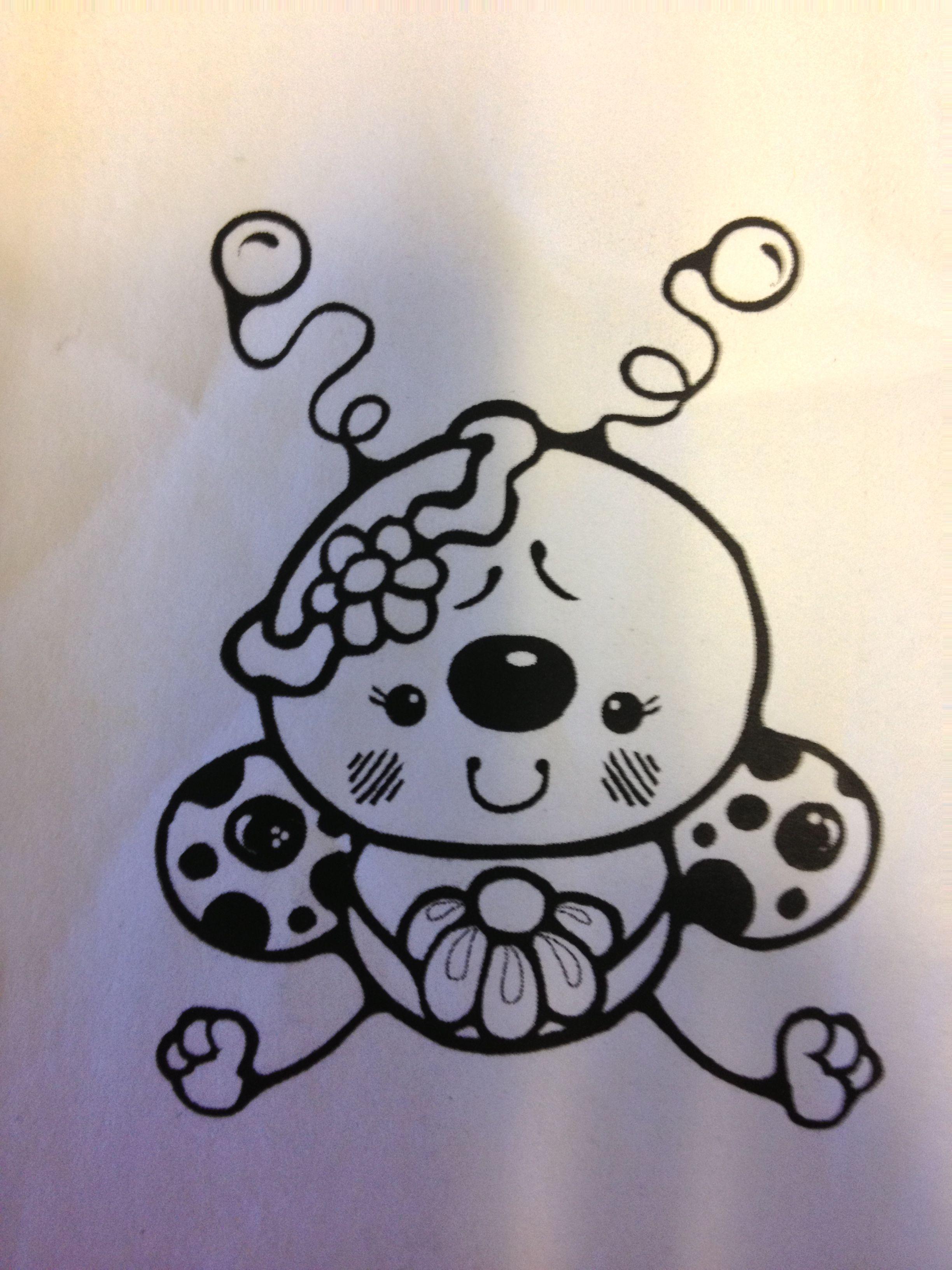 The template for my ladybug tattoo tattoos pinterest ladybug