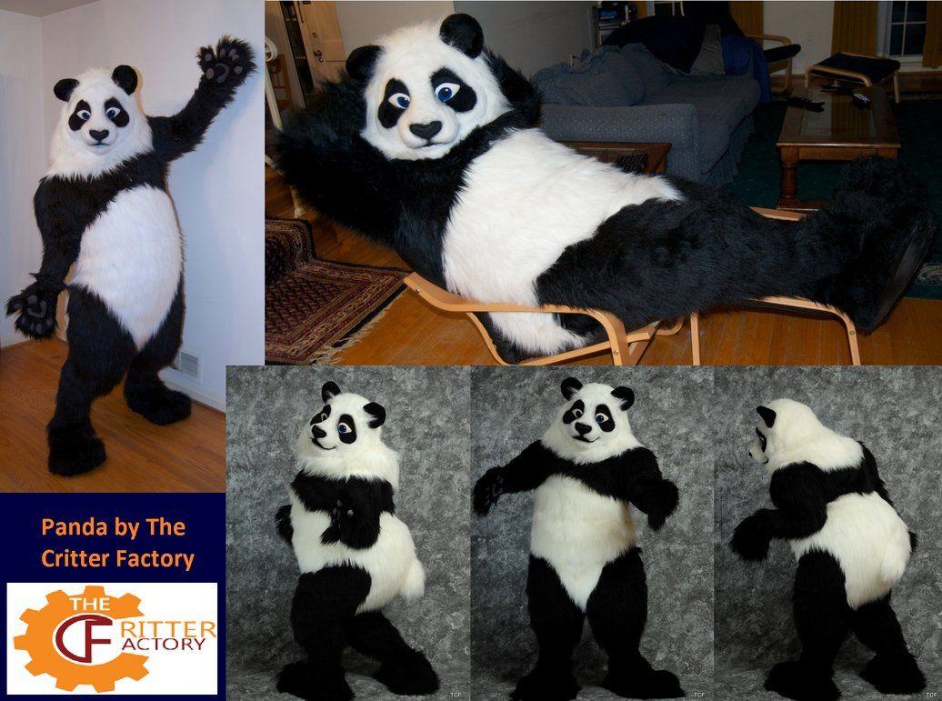 Fursuit Panda panda fursuit from 2 yrs agocritter factory