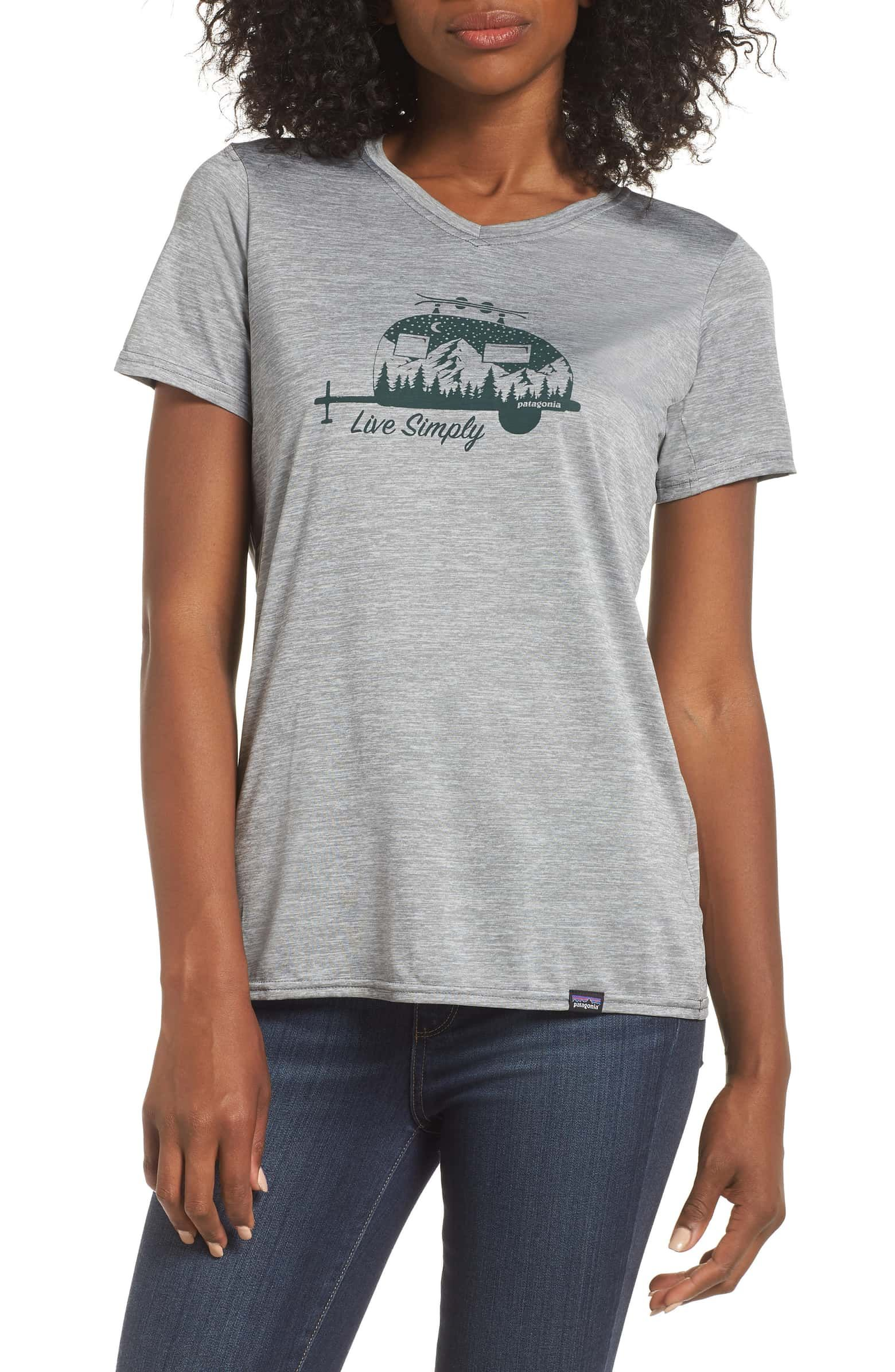 56b067643 Capilene Daily Graphic Tee, Main, color, FEATHER GREY | Last Night ...