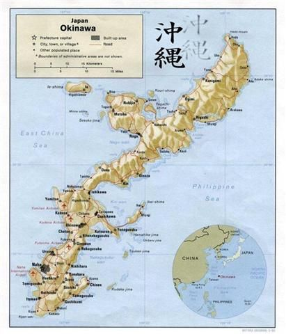 Okinawa Japan Called This Place Home From Miss You - Us bases in japan map