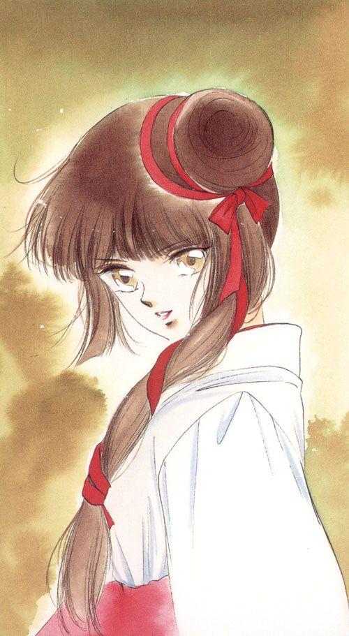 """Art from """"Vampire Princess Miyu"""" by manga artist Narumi Kakinouchi."""