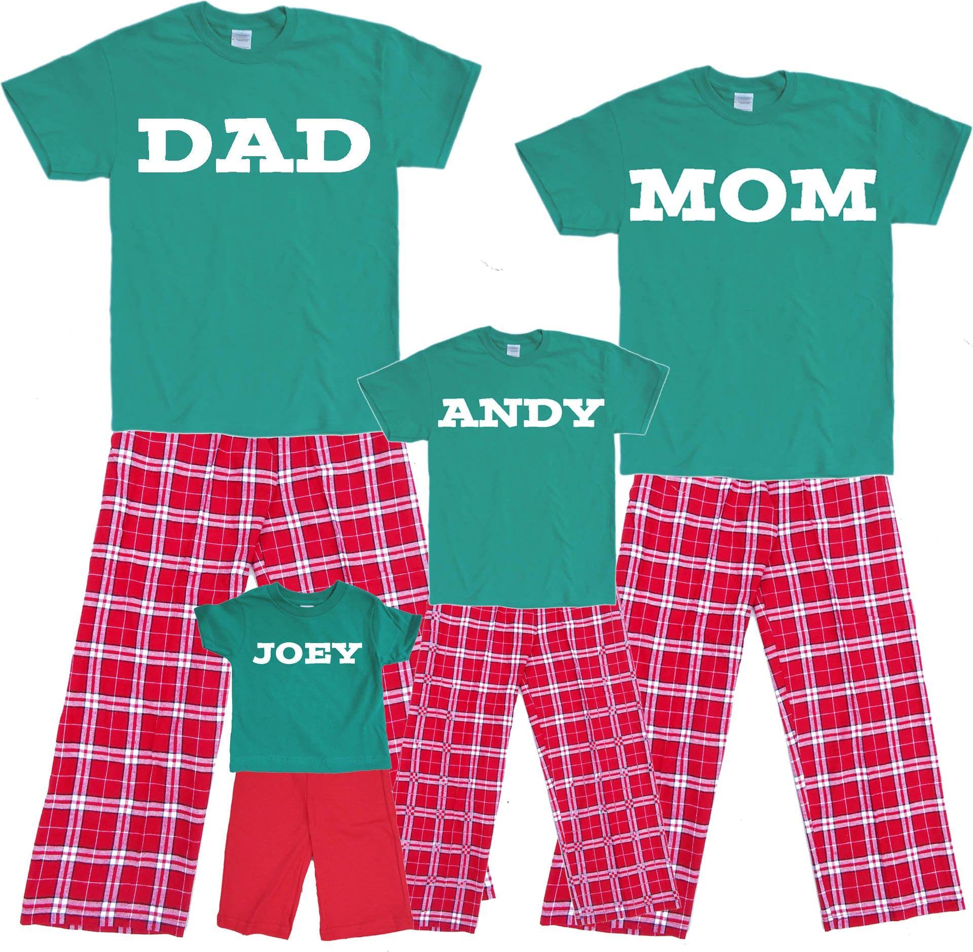 family christian pajamas | Christmas Pajamas for Family - Adult ...