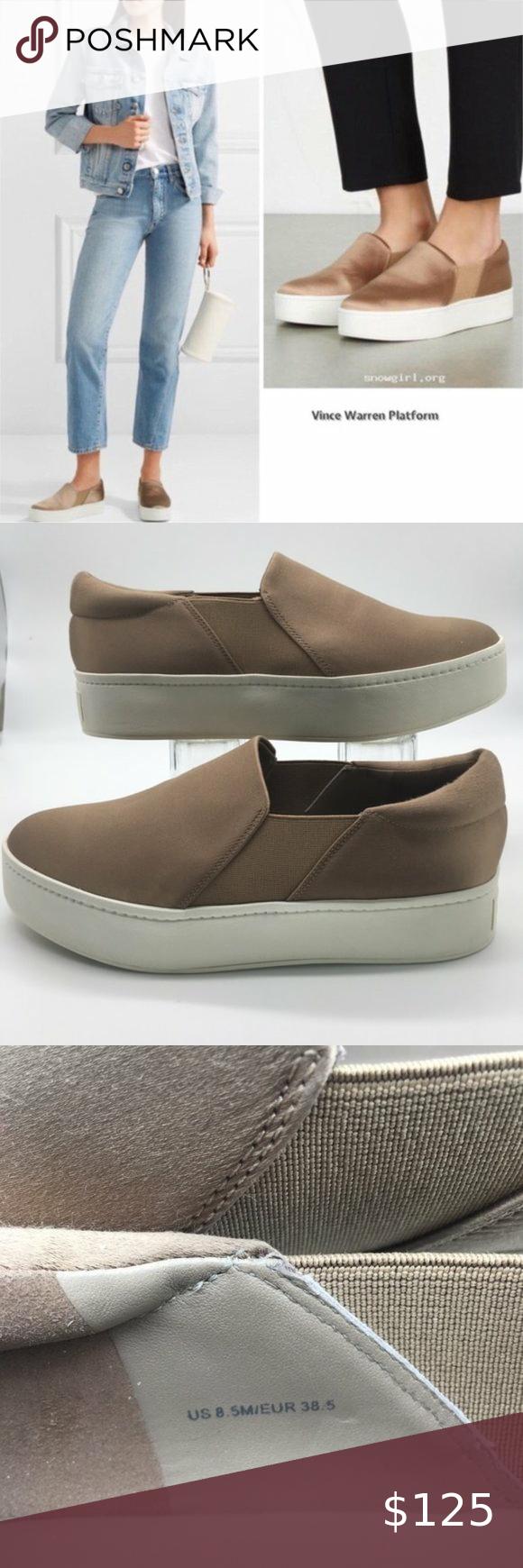 Vince WARREN Fawn Platform Sneaker 8,5