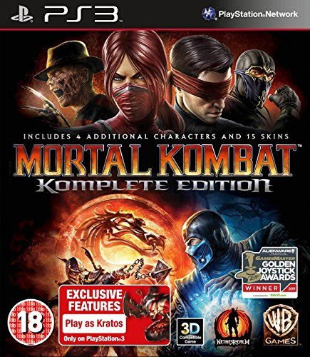 Mortal Kombat Game Of The Year Edition Ps3 Want To Know More Click On The Image Note It Mortal Kombat Games Mortal Kombat Komplete Edition Mortal Kombat