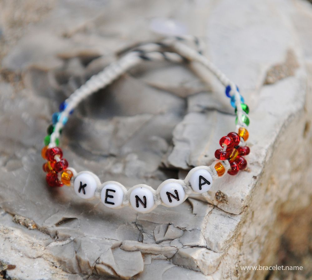 Create Your Own Name Bracelet It S Interactive Fun Free