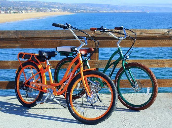 Pedego Electric Bikes In Balboaisland Balboa Orange County Electric Bike