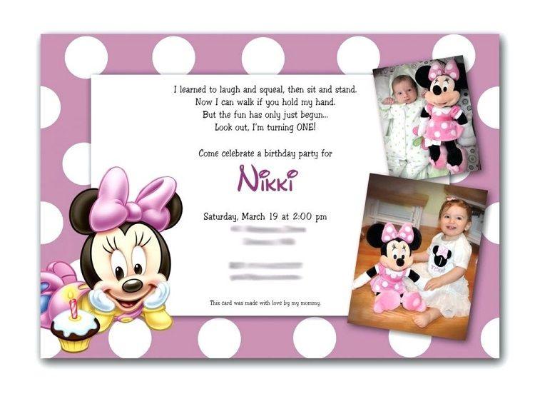 first birthday invitation matter in