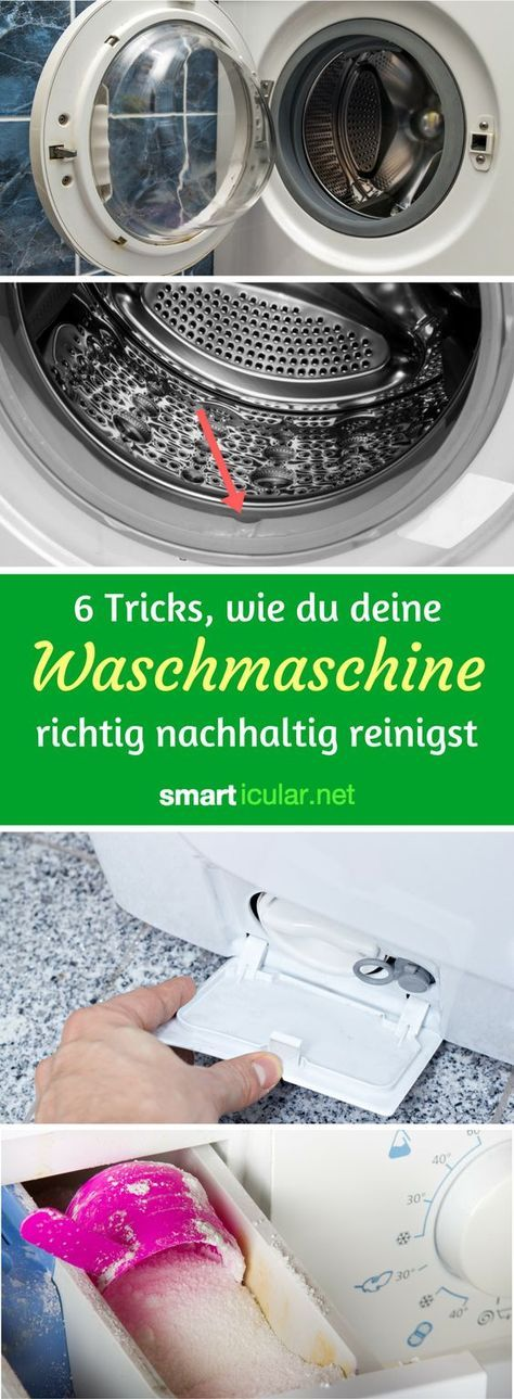waschmaschine umweltfreundlich reinigen mit hausmitteln pin1 pinterest cleaning cleaning. Black Bedroom Furniture Sets. Home Design Ideas