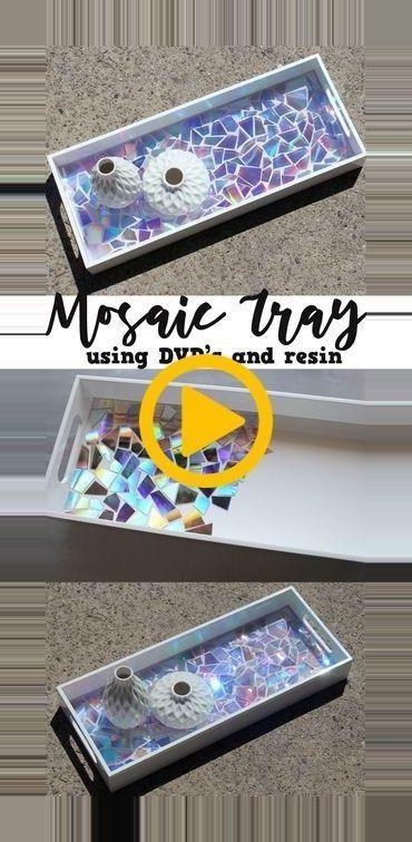 Verwenden Sie alte DVDs als Mosaikkacheln und kreieren Sie ein atemberaubendes Kunstwerk, das mit Envi … #atemberaubendes #kreieren #kunstwerk #mos… – My Winter Break 2020