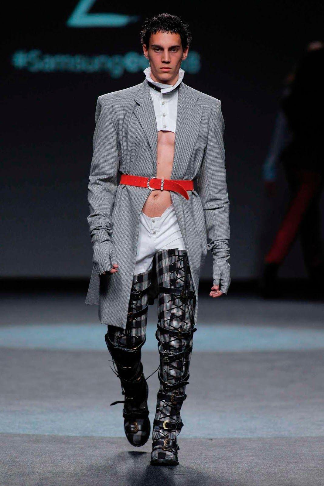 Andrés zurru springsummer mercedesbenz fashion week madrid