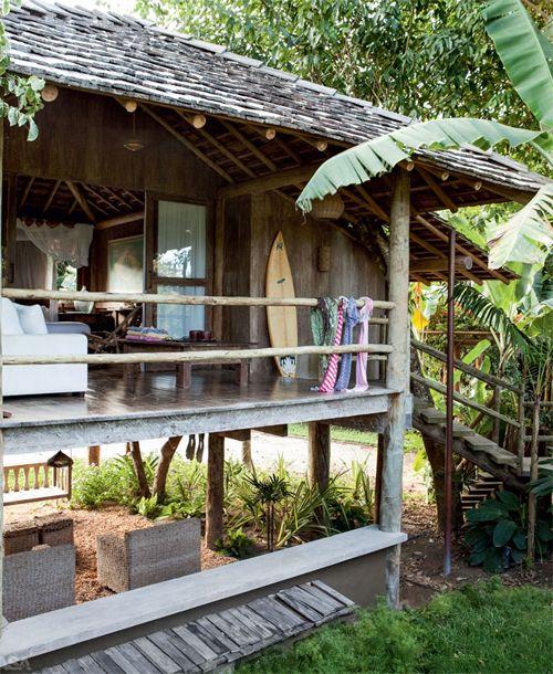 Bali Beach House: Casa De Madeira Em Trancoso - Let It Dream...