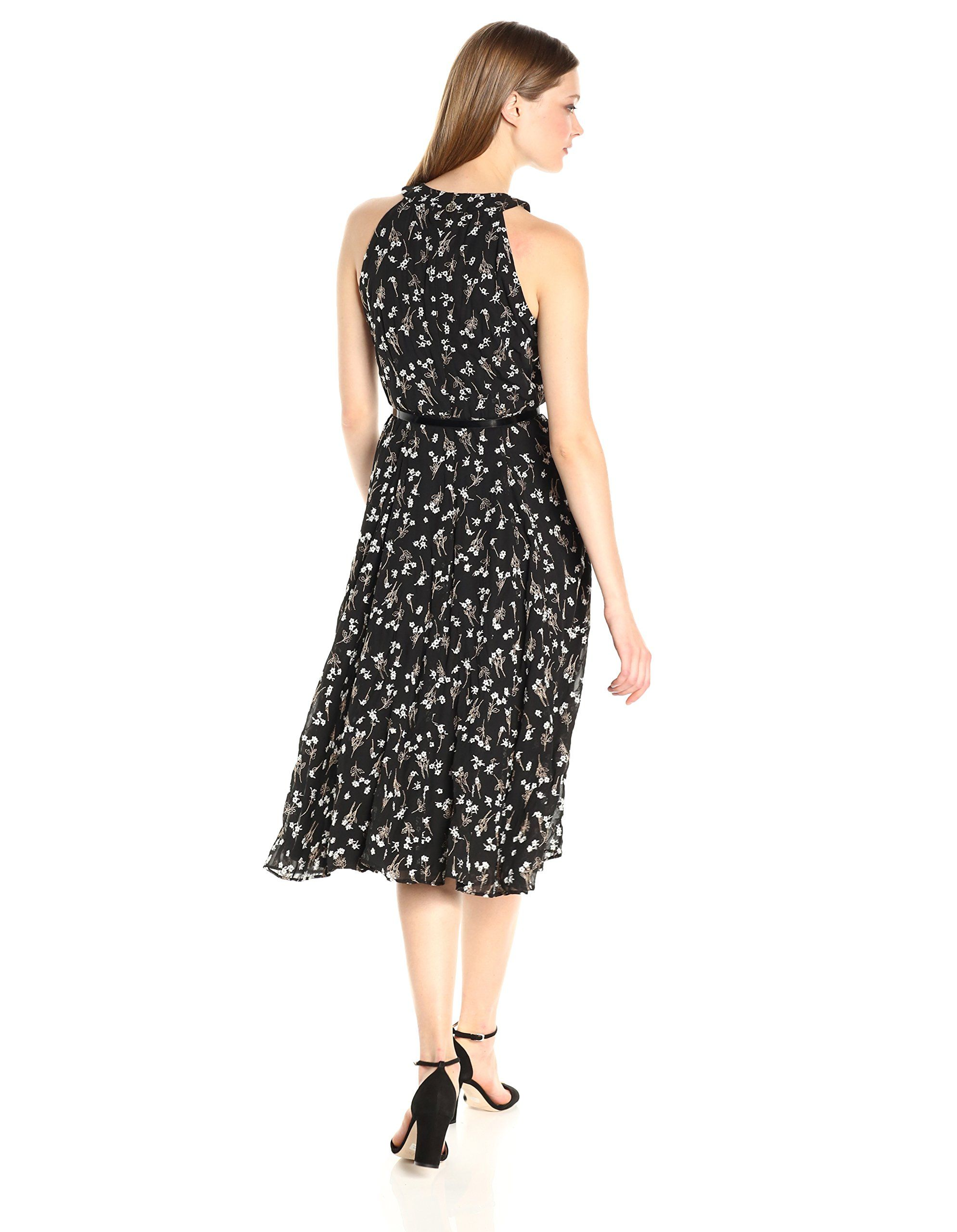 a3eb7451616 Tommy Hilfiger Womens Coin Toss Chiffon Long Dress Black/Multi 8 >>> Find  out more about the great product at the image link-affiliate link. #dresses
