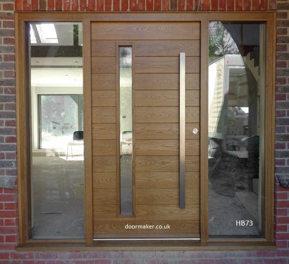 contemporary oak front door | Puertas | Pinterest | Doors, Entry ...