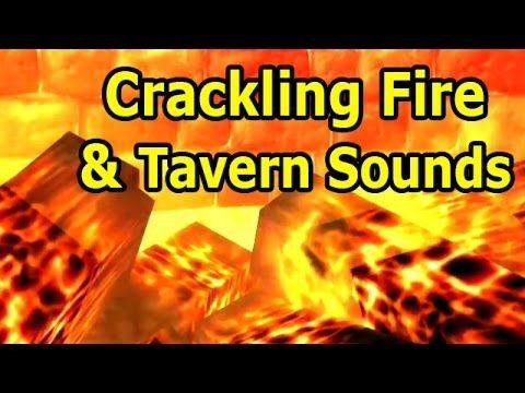 World of Warcraft ASMR: Crackling Fire and Tavern Sounds