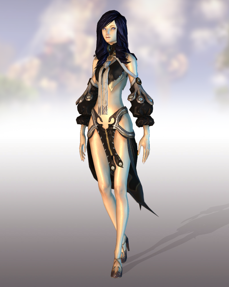 BnS Kun Female 01 XNALara by SumireHaikuXNA | Virtual Fashion and