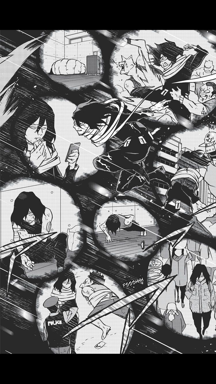 Aizawa (vigilantes 65) My hero academia manga, My hero