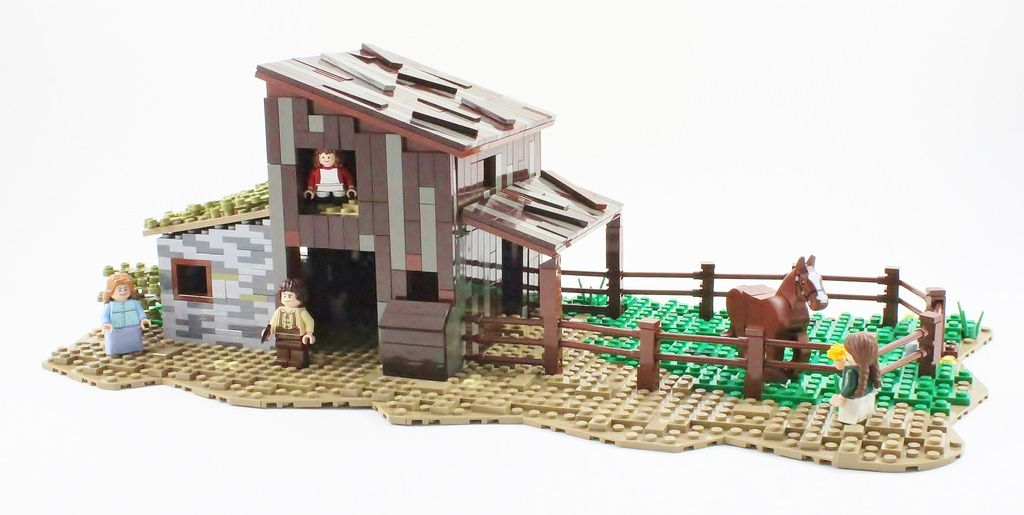 Image result for lego little house on the prairie