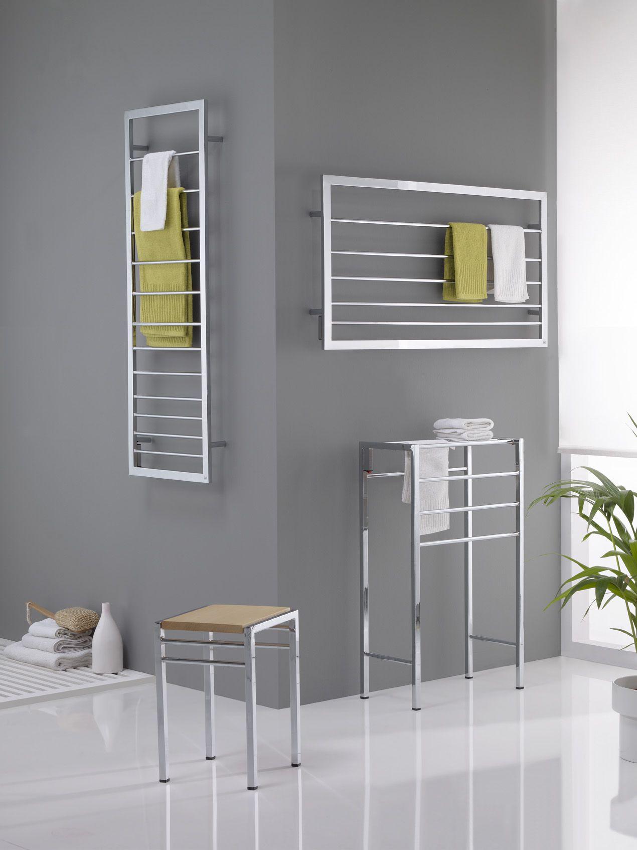Oxil marc radiadores radiators pinterest toallero - Radiador electrico bano ...