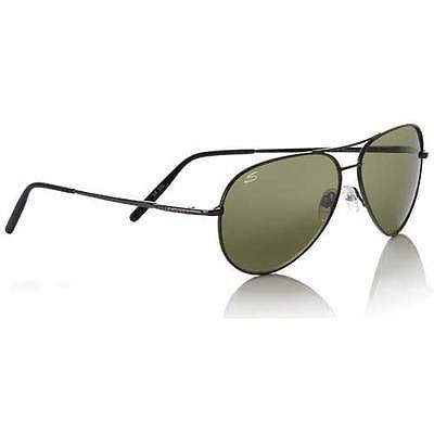 4295ddf802 Serengeti Medium Aviator 7190 sunglasses have polarized lenses to block  harsh glare while providing a clear view of your surroundings.