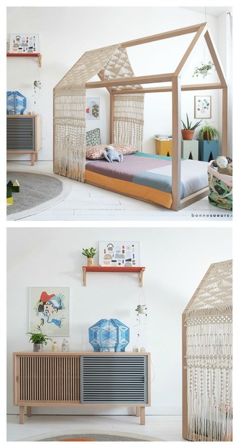 Dream Bed, Dream Kids Rooms Minimal, House and Kids rooms