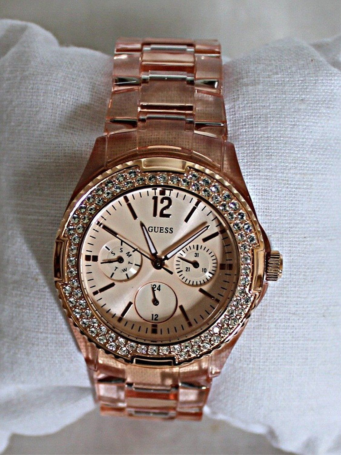 Womens watches women gold watches sale Guess Ladies Rose Gold