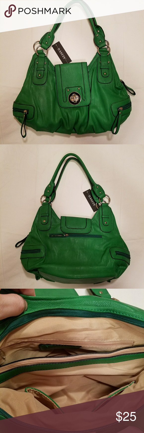 Green Purse New with tags. Bags Shoulder Bags