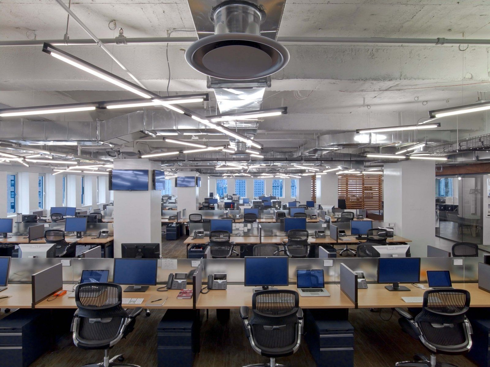 Condé Nast Entertainment Offices New York City Office Snapshots Industrial Office Design Workspace Design Office Design