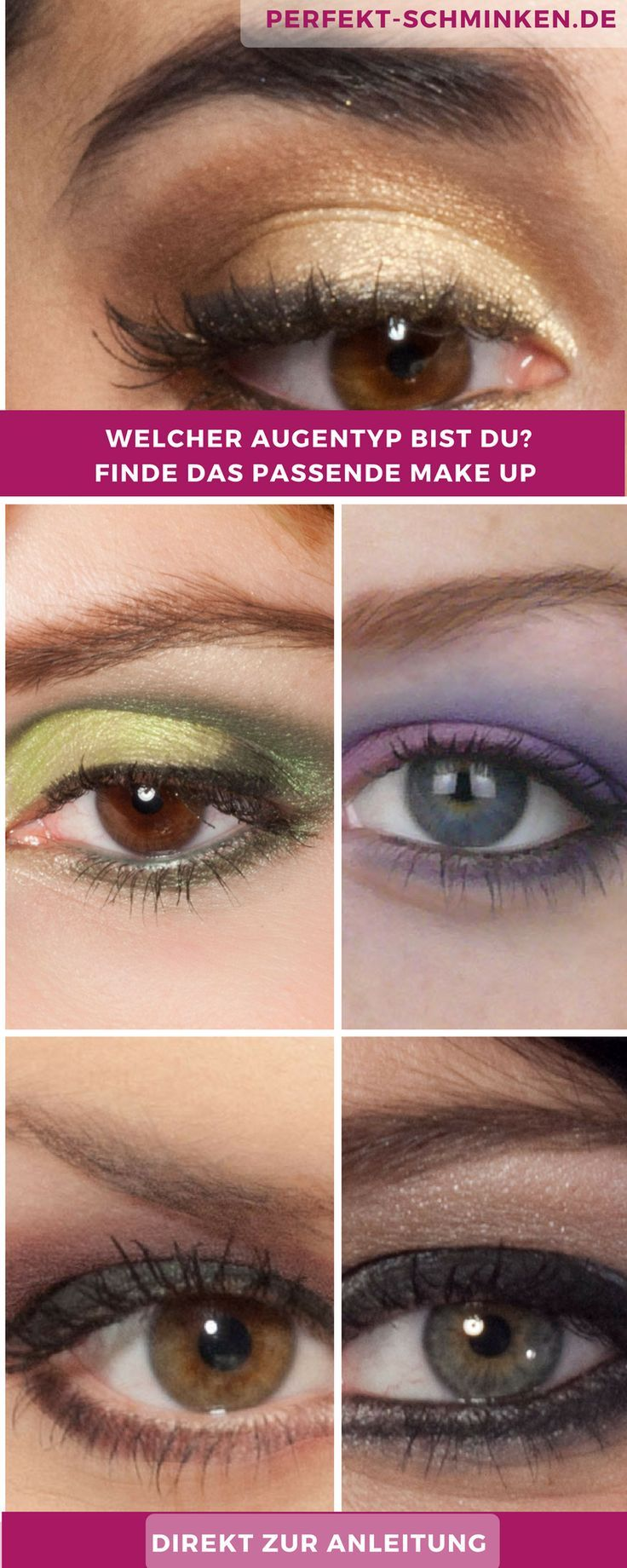 Welche Farbe Passt Zu Grun Braunen Augen Braune Augen Schminken