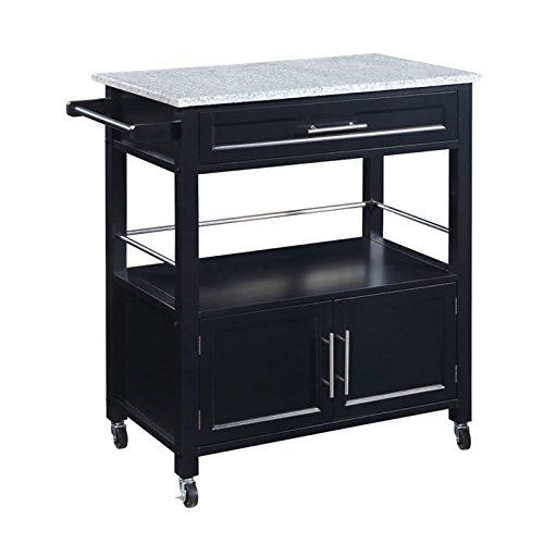 Linon Cameron Kitchen Cart With Granite Top Linon Https