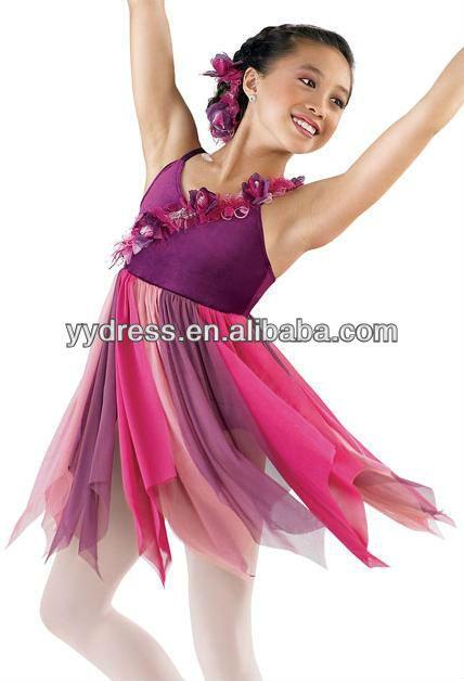 Niños Encantadores Ballet Del Vestido Del Baile Lírico En
