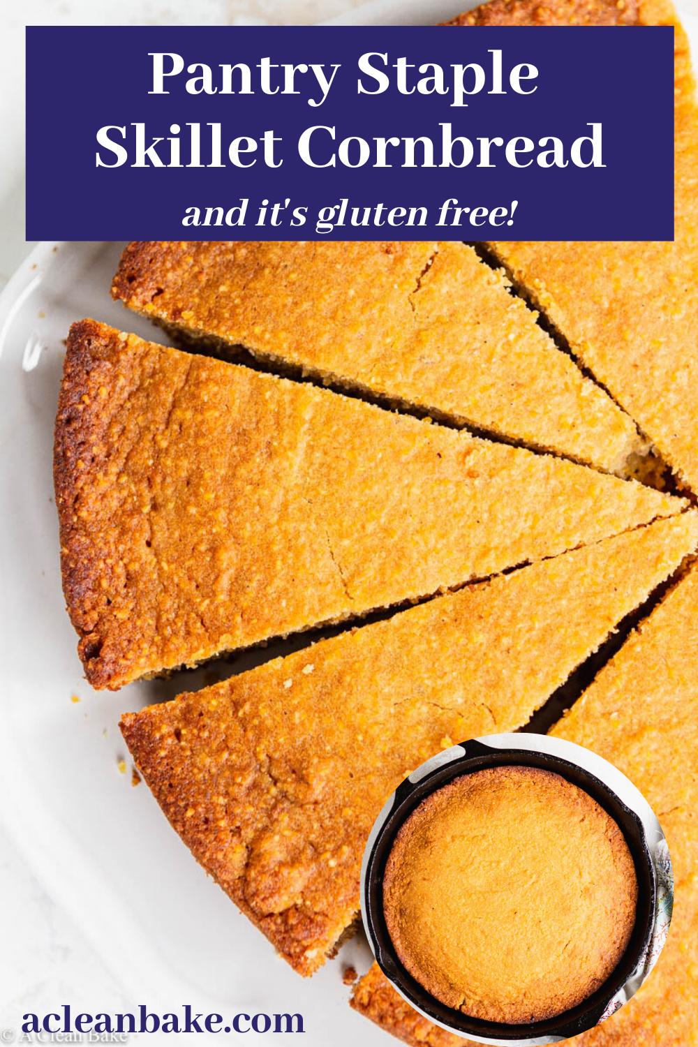 Gluten Free Skillet Cornbread Recipe In 2020 Breakfast Bread Recipes Easy Thanksgiving Recipes Easy Holiday Recipes