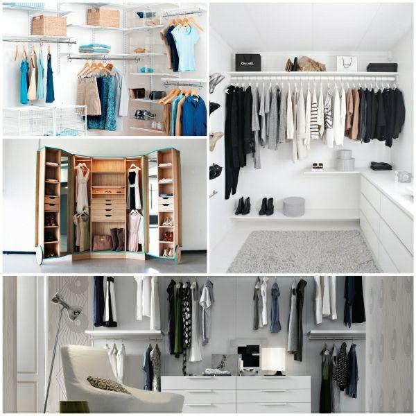 offener kleiderschrank begehbarer kleiderschrank ideen | Wohnideen ...