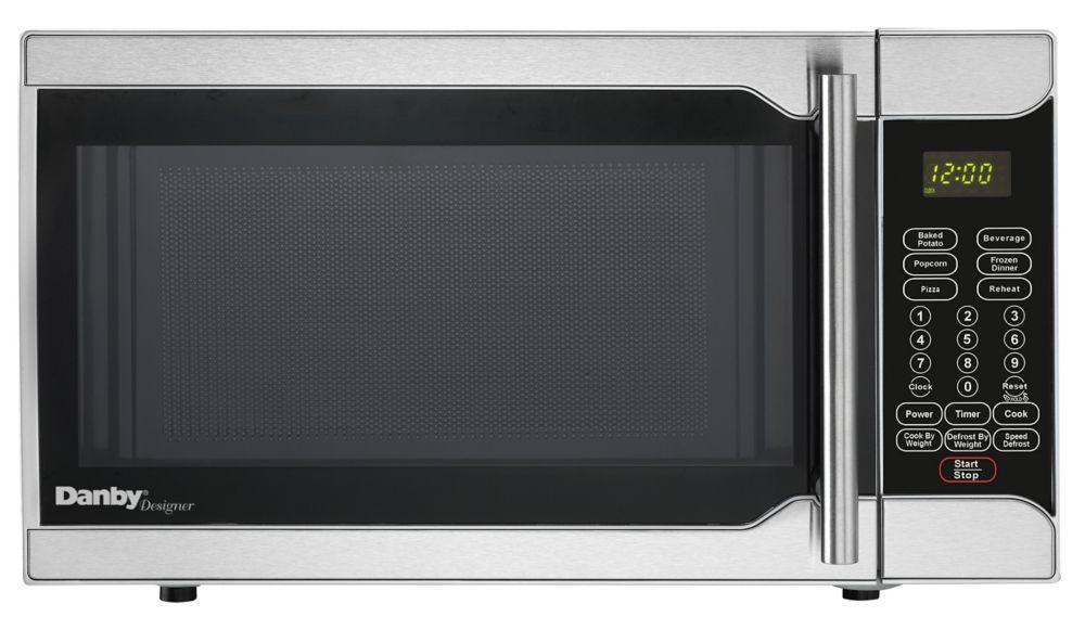 Whirlpool 0 9 Cu Ft Countertop Microwave The Home Depot Canada 19 Inches Countertop Microwave Stainless Steel Microwave Danby