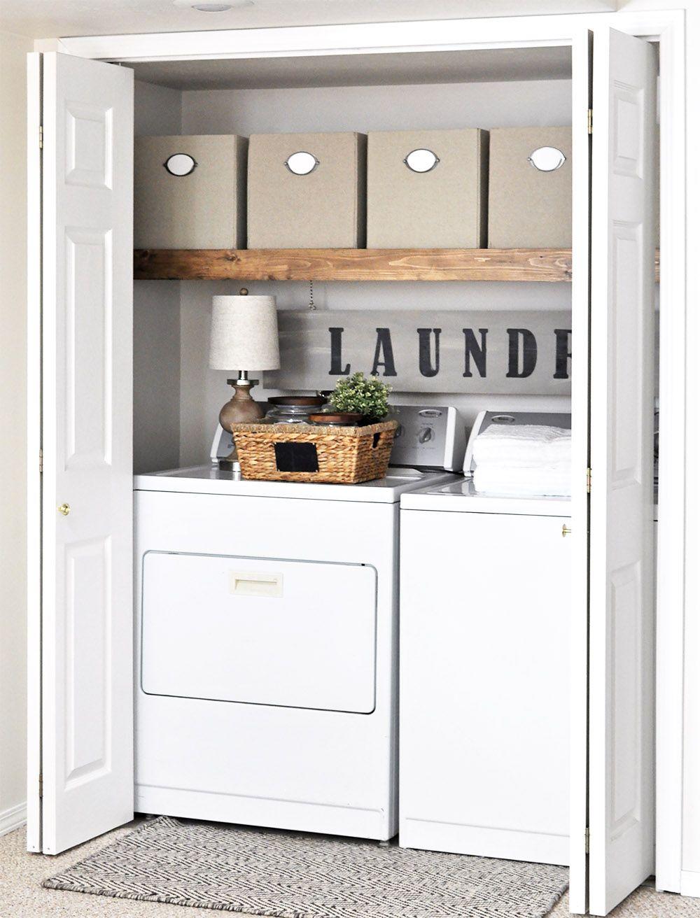 Easy laundry room makeover hometalk funky junk present bloggers diy anything pinterest - Armario para lavadora ...