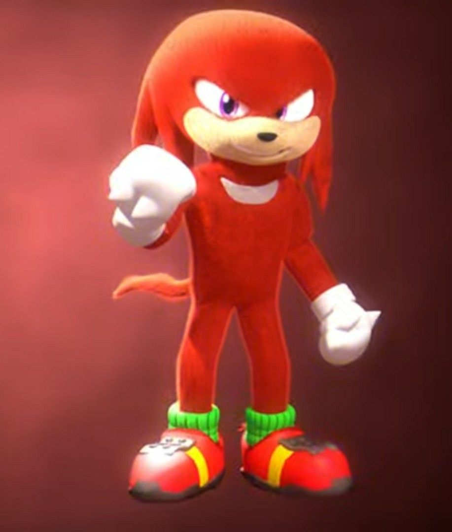 Knuckles 20 Movie Design by Imaginemationz   Hedgehog movie, Sonic ...