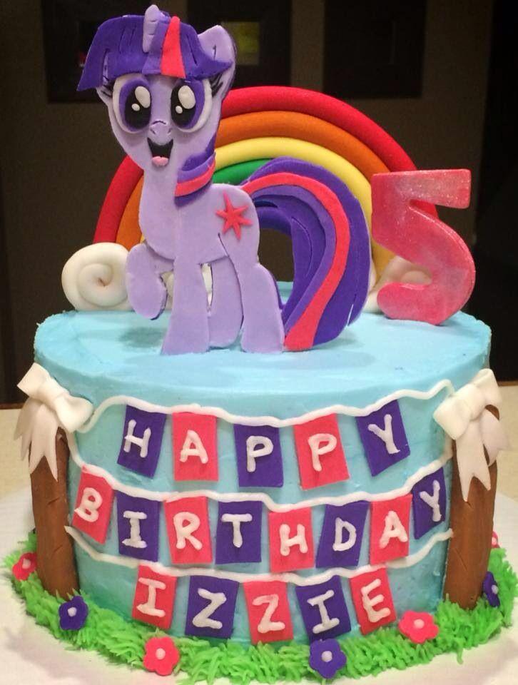 Twilight Sparkle My Little Pony Cake Birthday Cakes Pinterest