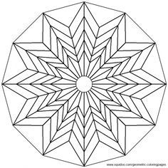 Geometric Coloring Pages Geometric Coloring Pages Mandala Coloring Pages Tessellation Patterns