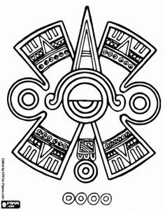 4ab8c1e02 dibujos mayas - Buscar con Google | good sign! | Mayan tattoos ...