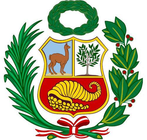 Escudo De Armas Del Peru Art Design Peru Peru Tattoo