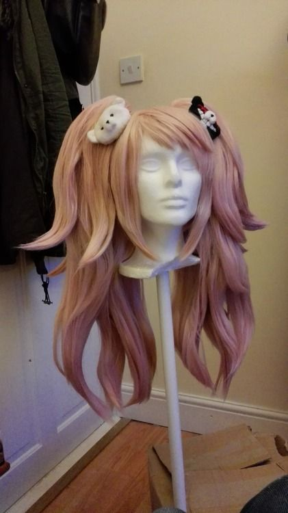 Junko Enoshima Wig Tutorial Cool Stuff Pinterest Cosplay