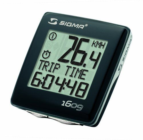 Sigma Bc 1609 Cadence Bicycle Speedometer By Sigma 29 43 Amazon