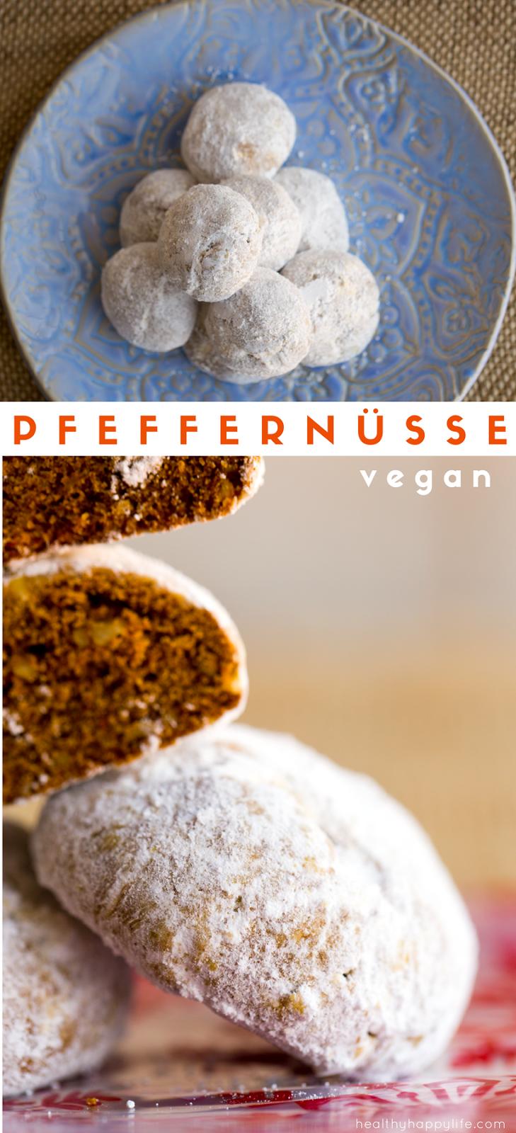 Vegan Pfeffernusse Cookies A Traditional German Christmas Cookies