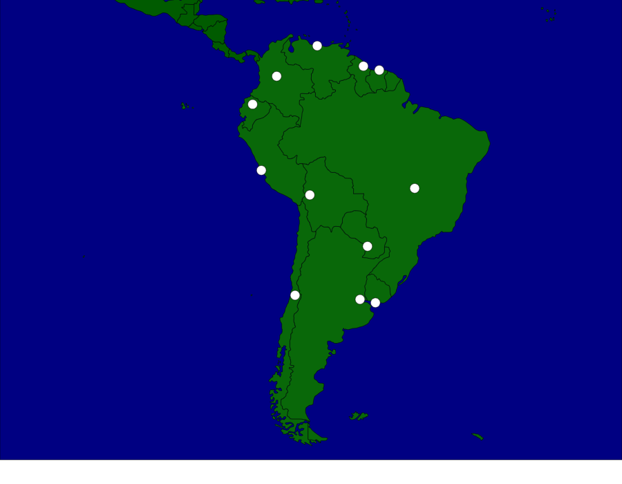South America: Capitals - Map Quiz Game | Kids\' World | Pinterest ...